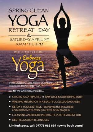 Spring Clean Yoga Retreat